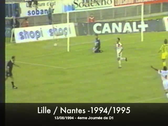Lille / Nantes - 1994/1995