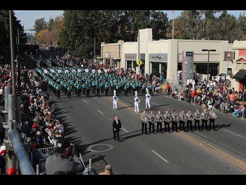 Santiago HS Sharks Marching Band - 2018 Pasadena Roses Parade
