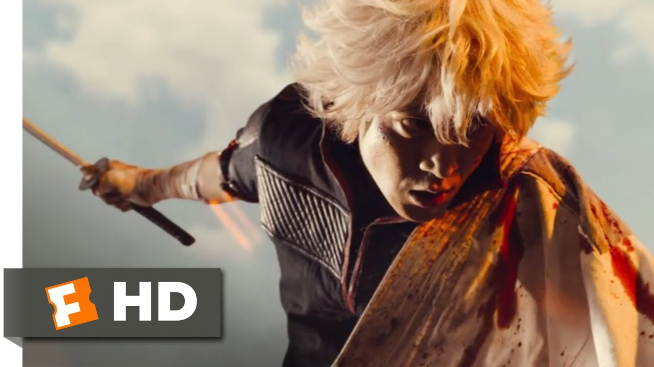 Gintama (2018) - Gintoki vs. Shinsuke Scene (10/10) | Movieclips