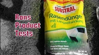 Substral Rasen-Dünger| Qualitätsrasendünger mit bis zu 3 Monaten Langzeitwirkung gegen Unkraut