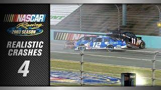 NASCAR Racing 2003 *Realistic* Crashes 4
