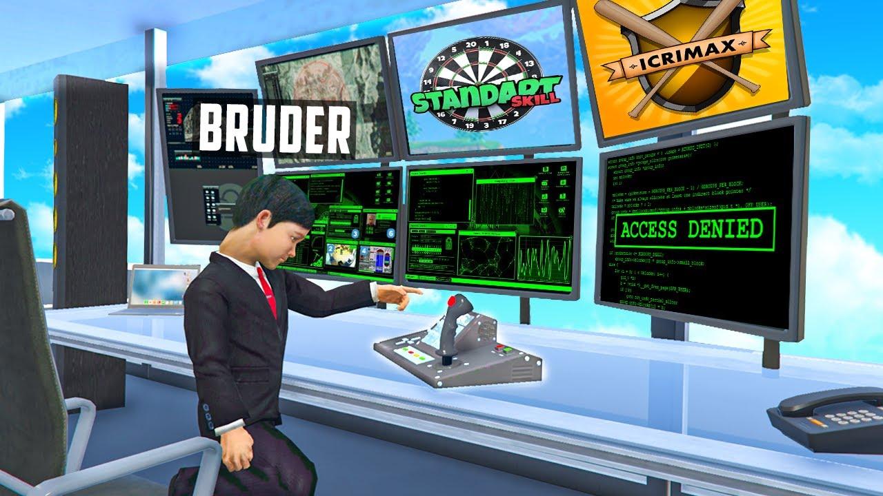 KLEINER BRUDER HACKT YOUTUBER in GTA 5 RP!