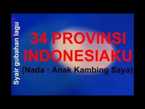 CARA MUDAH MENGHAFAL 34 PROVINSI Ver 3 - By Bu Jeki