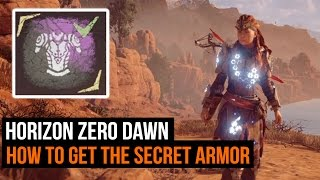 Horizon Zero Dawn: How to get the secret armor (Shield Weaver Armor)