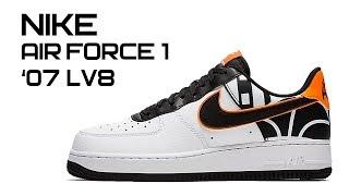 Обзор кроссовок Nike Air Force 1 '07 LV8