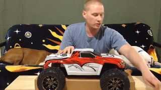 The NEW Losi LST XXL 2 GAS Monster Truck Unboxing & Initial Impressions