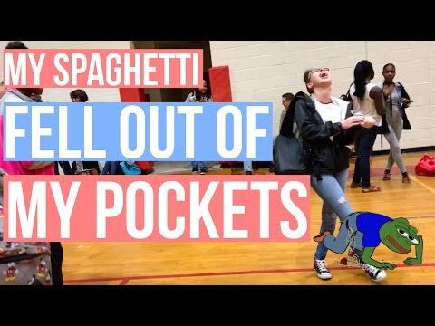 MY SPAGHETTI FELL OUT OF MY POCKETS