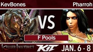 KIT17  - KevBones (Arbiter) vs TM | Pharroh (Orchid) F Pools - Killer Instinct