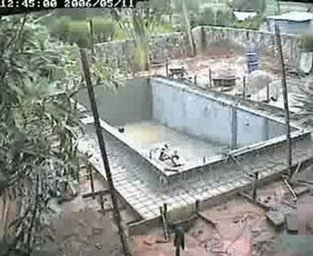 Swimming Pool Construction Thailand Youtube
