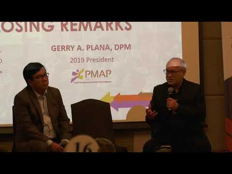 Conversation, Wrap-Up and Closing Remarks of Gerry Plana and Rey Untal at 650th Joint PMAP-IBPAP GMM