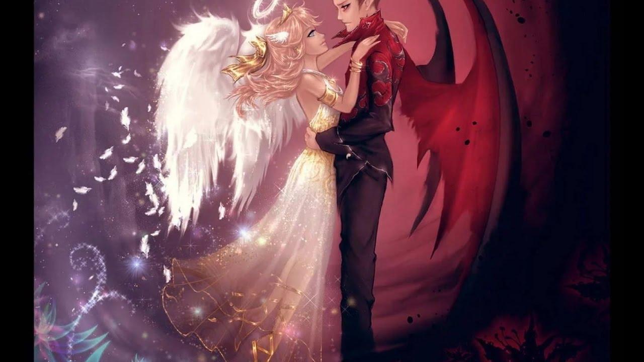 Построить, картинки ангелов и демонов