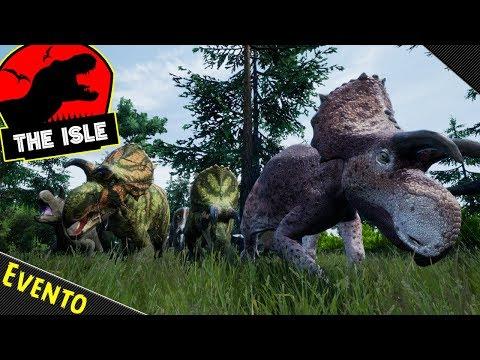 The Isle Realismo | EVENTO - Super Migração de Avaceratops e Diabloceratops! (#19) | (PT/BR)