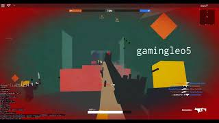 The only game on roblox with an SMG that can kill everyone by hipfiring