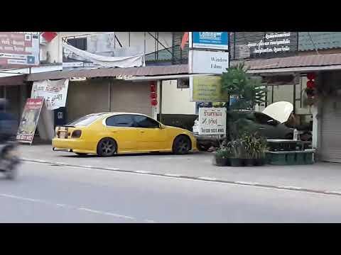 Sport car in Laos