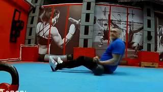 Упражнения с гирями для бойцов - 2.
