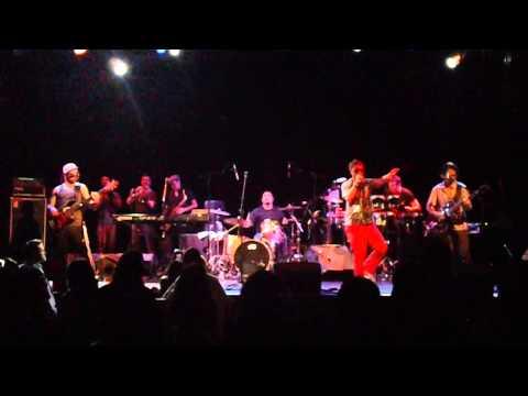 Escarioka Live  Williamsburg Music Hall Brooklyn NY 2014