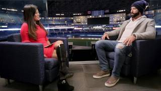 Bautista's candid sit down interview with Hazel Mae
