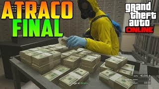 EL FINAL!! ÚLTIMO ATRACO A BANCO - ATRACOS A BANCOS GTA V ONLINE PS4 - Golpe en el Pacific Standard thumbnail