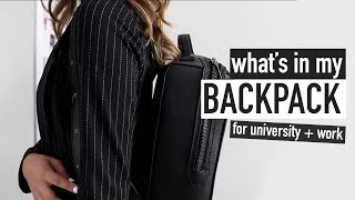 WHAT'S IN MY BACKPACK 📋🖊university + work supplies for 2019