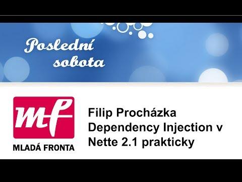 Filip Procházka: Dependency Injection v Nette 2.1 prakticky