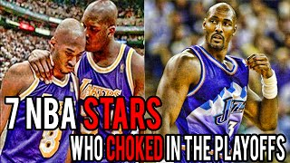 7 NBA Stars Who CHOKED in The Playoffs thumbnail