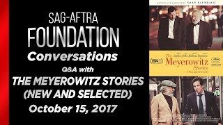 Conversations with THE MEYEROWITZ STORIES (NEW AND SELECTED)