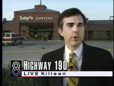 Robert Riggs Reports Luby's Cafeteria Mass Shooting October 17, 1991 Killeen, Texas