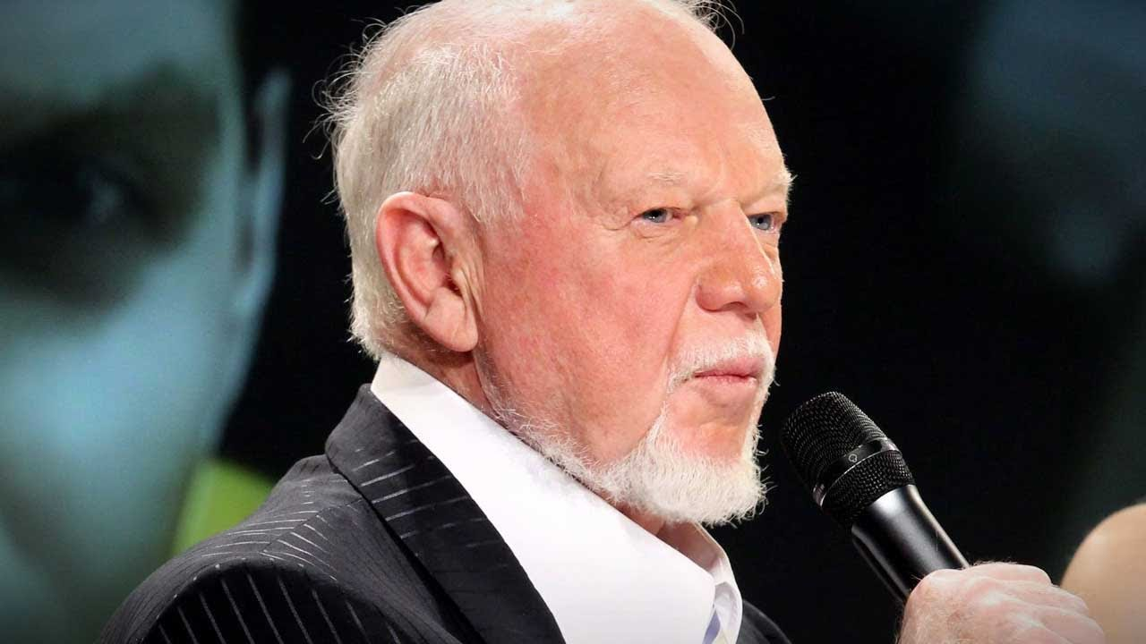 """Support Don Cherry"" sign confiscated by security at NHL game, hockey fan speaks out 