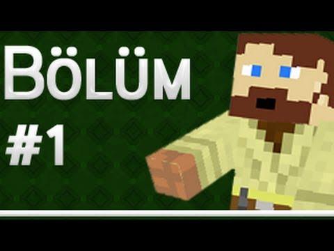 Minecraft Survival - Lanet Piller - Bölüm 1