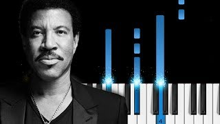 Lionel Richie - Truly - Piano Tutorial