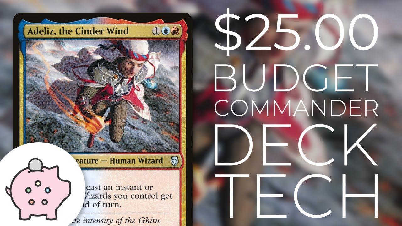 Adeliz, the Cinder Wind | Combo | EDH Budget Deck Tech $25 | Magic the  Gathering | Commander
