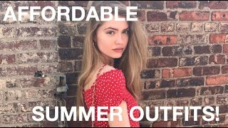 AFFORDABLE SUMMER OUTFIT IDEAS!