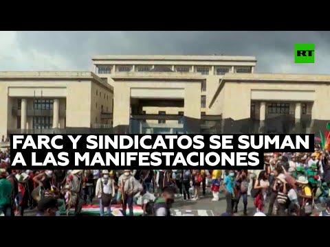 RT en Español: FARC y sindicatos se suman a las manifestaciones contra la nueva oleada de violencia en Colombia