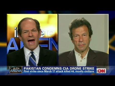 CNN: Imran Khan  'Drone attacks benefits al Qaeda'