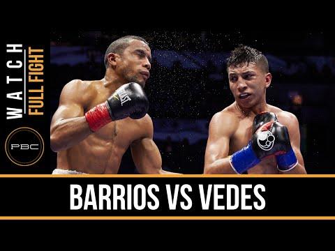 Barrios vs Vedes FULL FIGHT: Dec. 12, 2015 - PBC on NBCSN