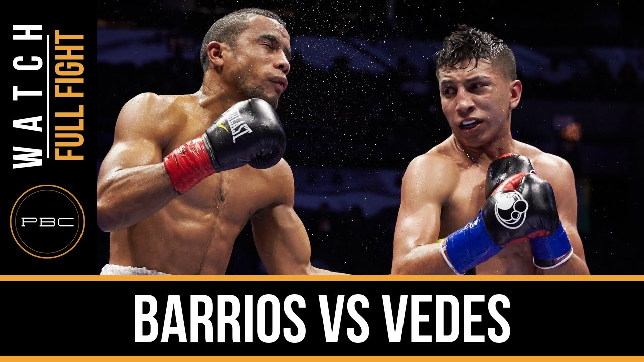 Barrios vs Vedes FULL FIGHT: Dec. 12, 2015 - PBC on NBCSN