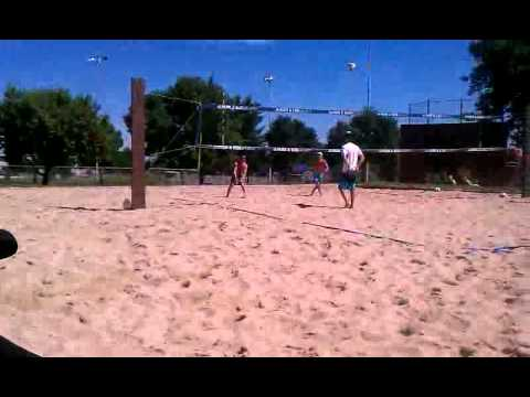 Lakewood open tourney w nick- lower on serve and D