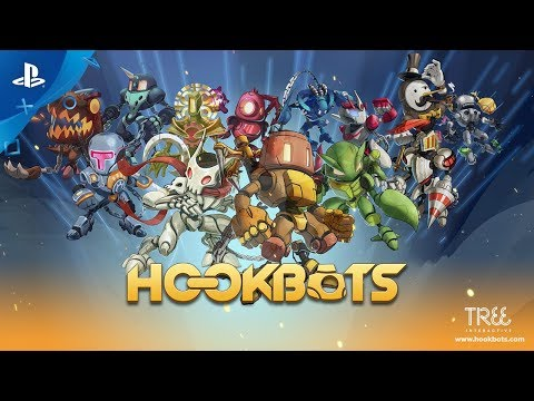 Hookbots - Release Trailer | PS4
