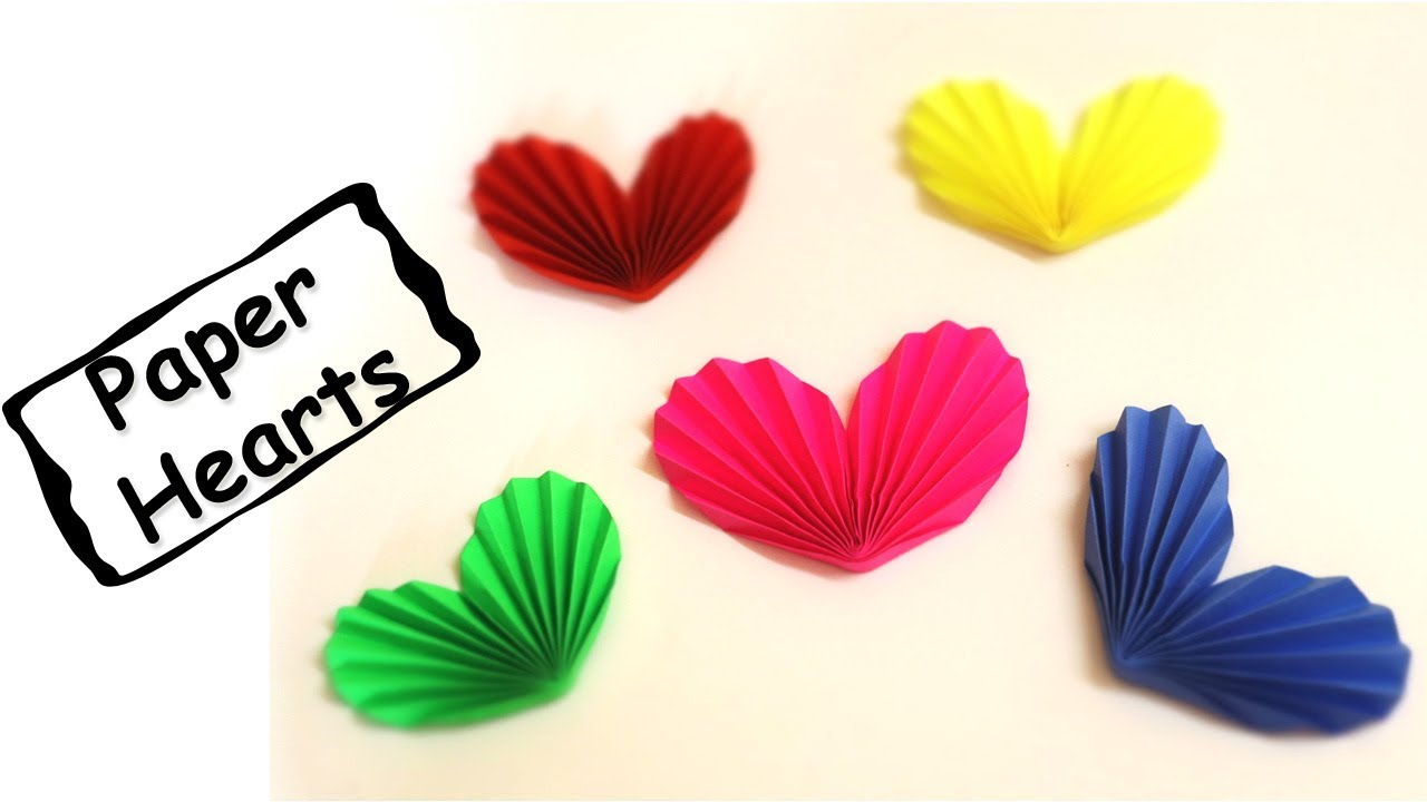 Simple Origami Heart Flower Bouquet - Design Improvised | 720x1280