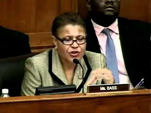 Congresswoman Karen Bass Questions State Dept On Congo S