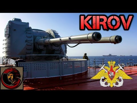 Russia's Kirov Class Battle Cruiser | MEGA SHIP