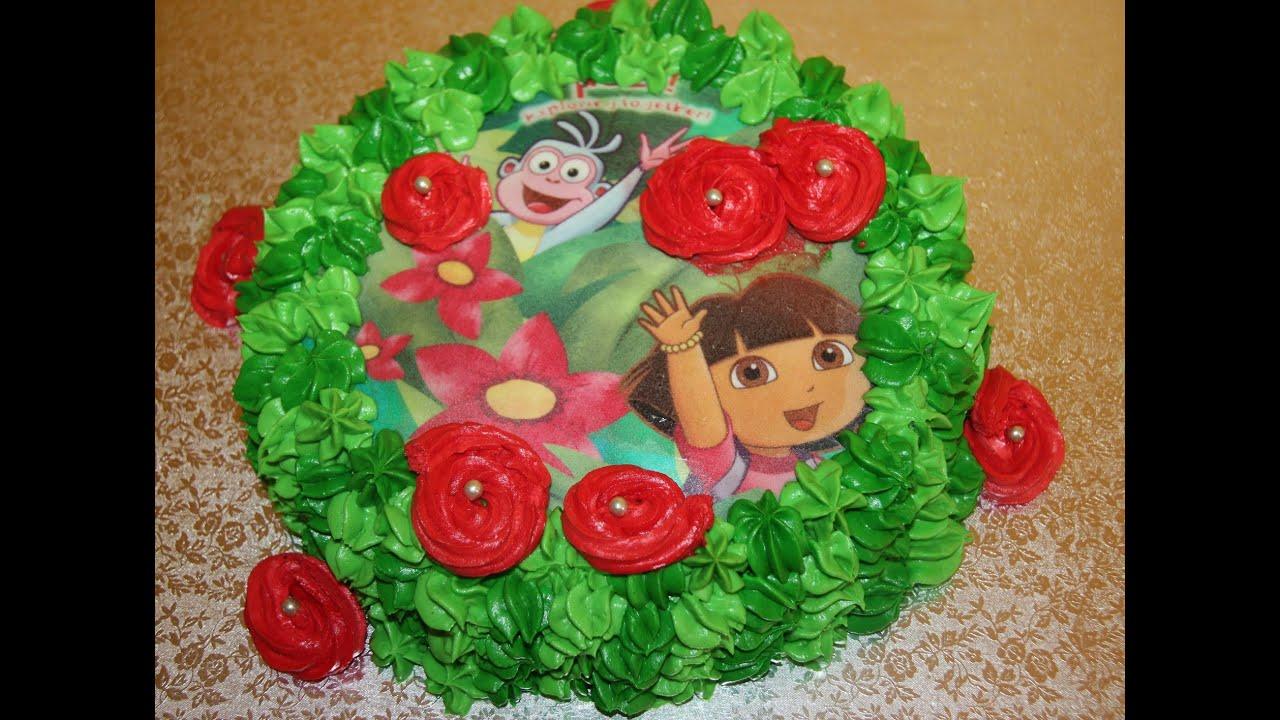 C mo hacer una tarta de Dora la Exploradora