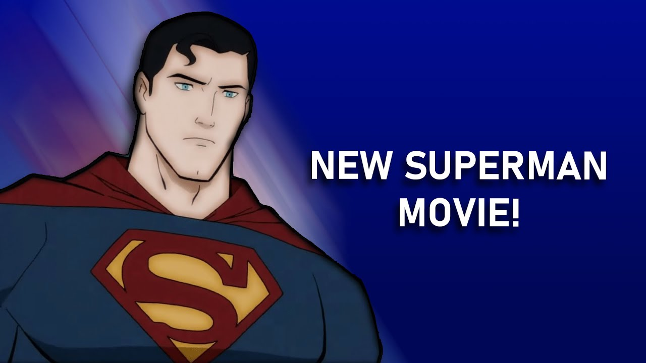 NEW SUPERMAN MOVIE REVEALED! Superman Man of Tomorrow Trailer Review!
