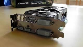 gigabyte nvidia geforce gtx 660 oc graphics card unboxing 2gb 192 bit ddr5 pci e unboxing