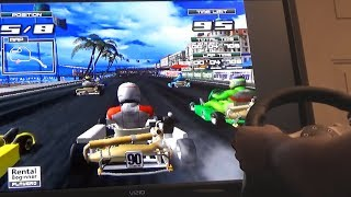 Club Kart: European Session (Arcade) with 270 Degree Wheel in Demul