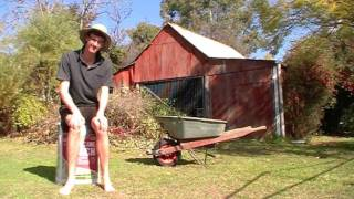 Gardening With The G Man: The Wheelbarrow