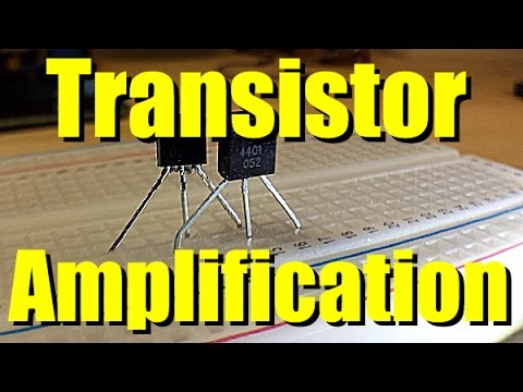 Transistor Amplification