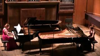 Debussy En blanc et noir - The Gromoglasovas duo