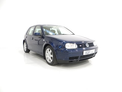 A Luxurious Volkswagen Golf V6 4Motion with Full VW History and 37,138 Miles - SOLD!