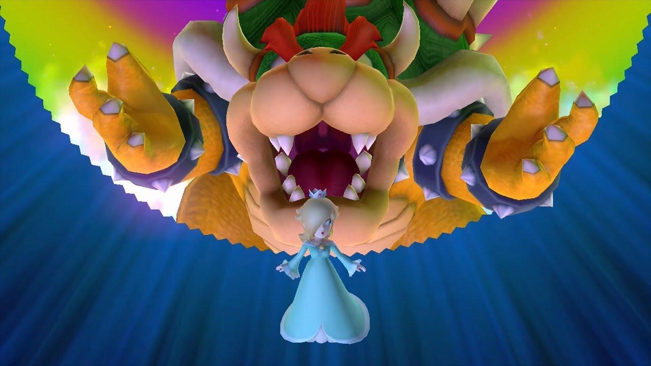 Mario Party 10 Bowser Party #153 Rosalina, Luigi, Toad, Mario Mushroom Park Master Difficulty